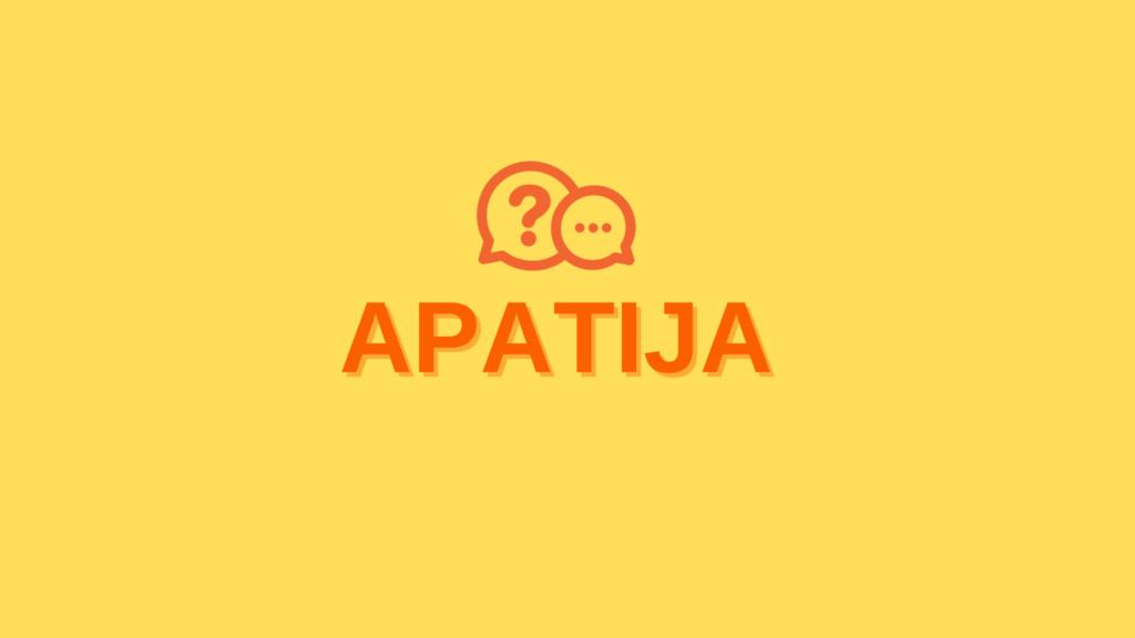 apatija