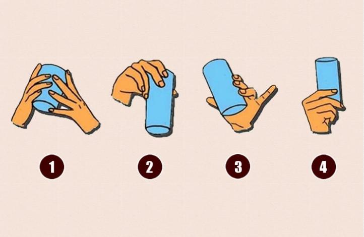 Na koji način obično držiš čašu? Evo šta to otkriva o tebi kao osobi!