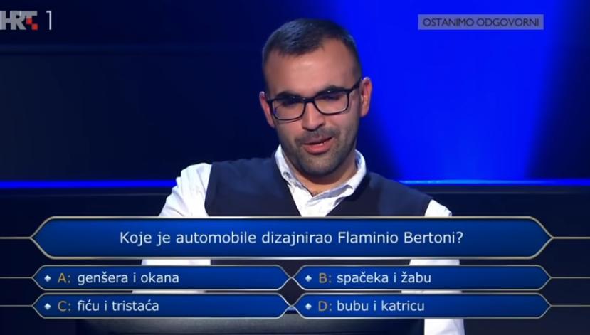 Student u Milijunašu osvojio 32 000 kuna, znate li odgovore na njegova pitanja?