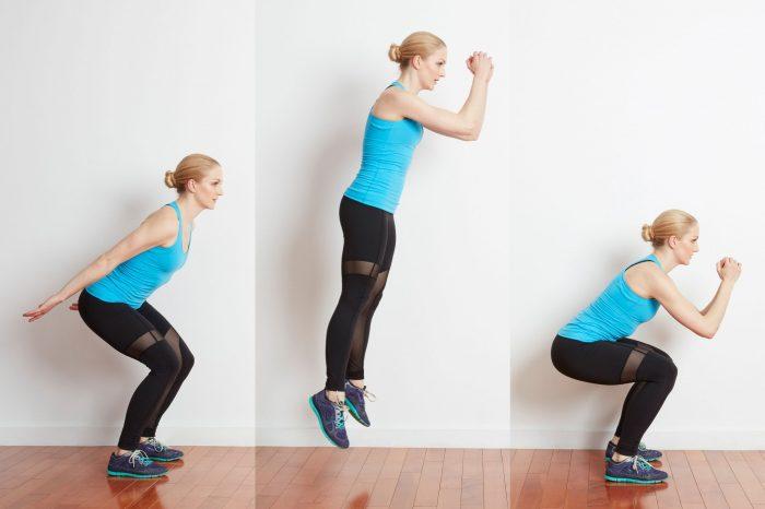 Skok iz čučnja - vježba kojom ćeš oblikovati noge i guzu