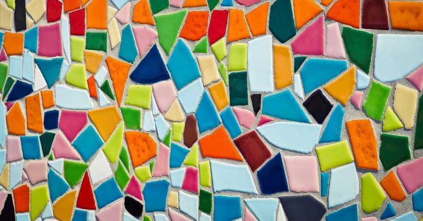 Kako napraviti mozaik od pločica
